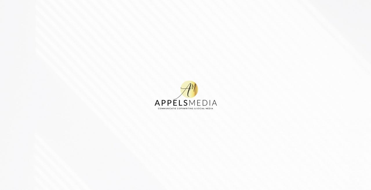 Appels Media viert 3-jarig bestaan met nieuwe huisstijl